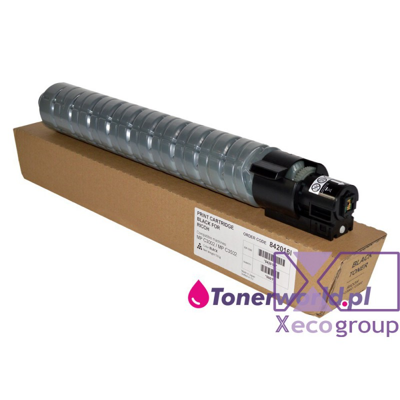 Ricoh toner rmx regenerated mp c3002 c3502 842016 black