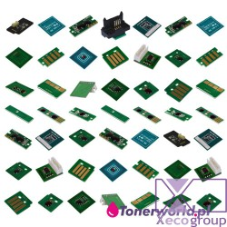 1 set CMYK toner chip DMO...