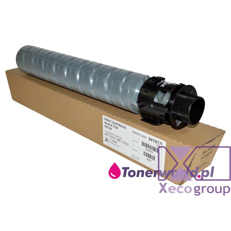 Ricoh toner rmx regenerated mp c3003 c3503 c3004 c3504 841817 black