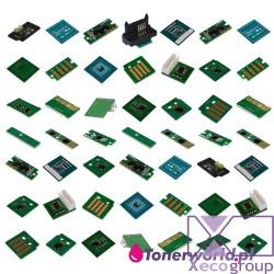 1 set CMYK toner chip DMO...