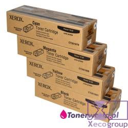 Xerox CMYK toners set OEM...