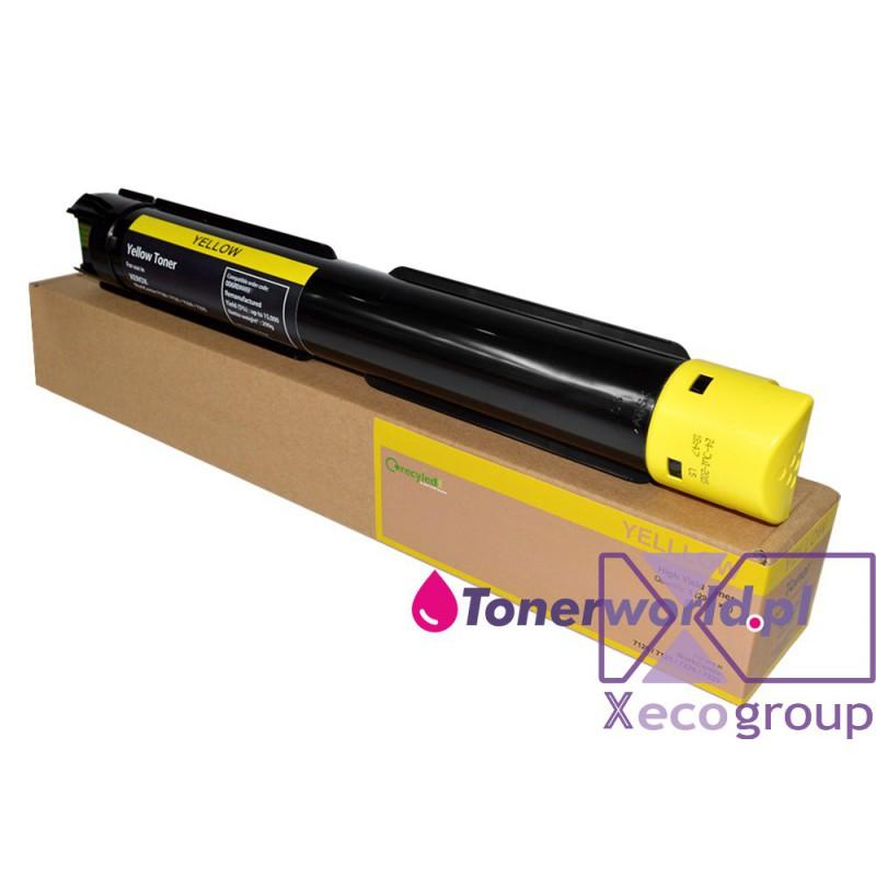 Xerox toner rmx regenerated wc workcentre 7120 7125 7220 7225 006r01454 yellow