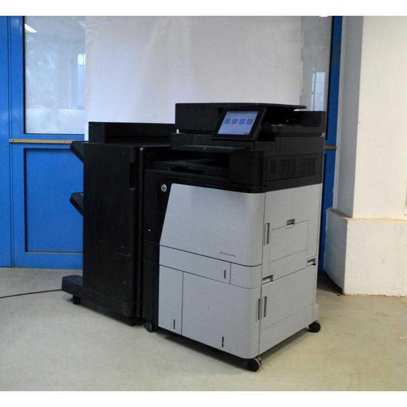 Hp Laserjet Color Enterprise Flow Mfp M880 A2w76a 219k Finisher