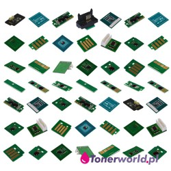50 Chips for Xerox WorkCentre DocuColor Color toner and Drum OEM Original